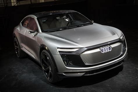 Audi Electric Car by New E Sportback Concept Is Like Audi S Electric Lambo