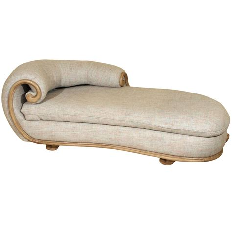 custom chaise fabulous custom chaise by steve chase at 1stdibs