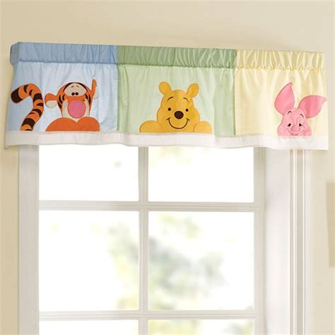 winnie the pooh curtain pin by mckenziie rocheville on baby nursery pinterest