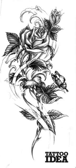 catalogo tatuaggi fiori con fiori tatuaggi farfalle e alla caviglia