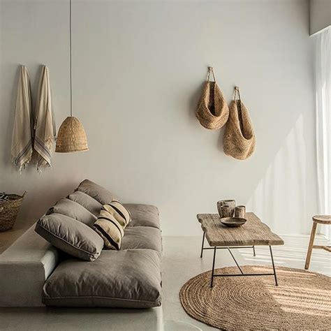minimal decor minimal linen wood organic interior decor and design home decoration inspiration minimalist