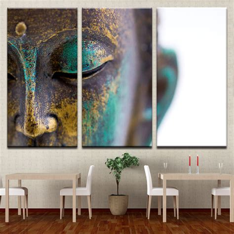 canvas paintings wall art home decor  pieces buddha
