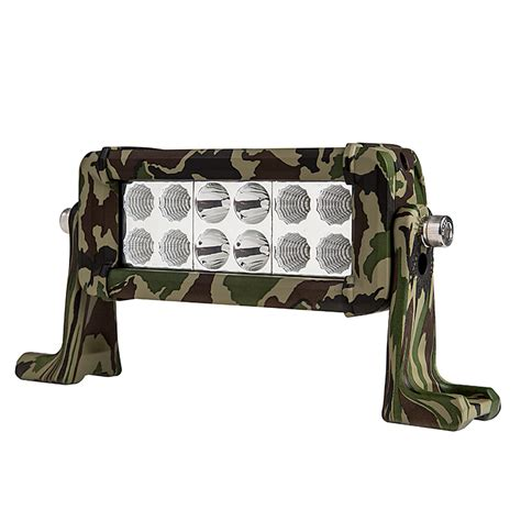 6 Quot Camo Off Road Led Light Bar With Spot Flood Combo 36w Camo And Lights