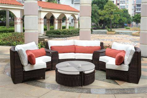 furniture curved outdoor furniture sofa home design