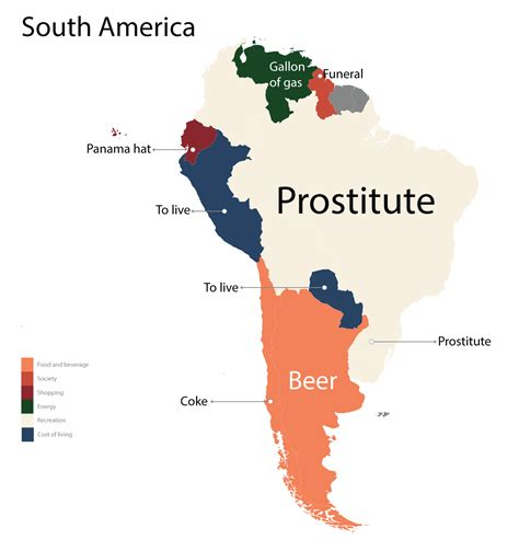 south america map by country cost obsessions around the world zero hedge