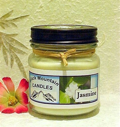 Handmade Soy Candles - 8 ounce handmade soy candle black mountain candles