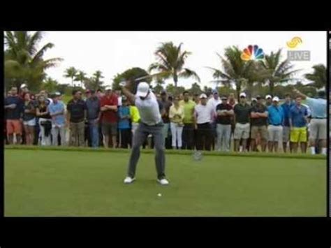 tiger woods swing 2013 golf swing transition tiger woods slow motion front and