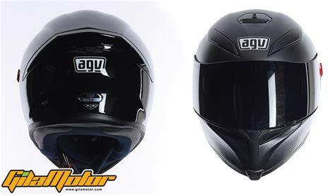 helm agv new k5 kombinasi bahan karbon dan serat kaca gilamotor