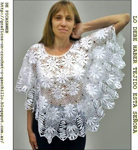 patrones de ruanas a crochet tejidos a crochet ganchillo patrones capa tejida a