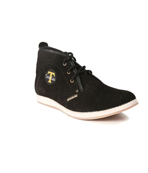 buy timberland black leather formal shoes for