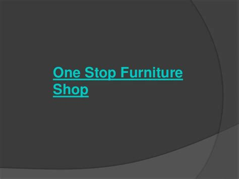 One Stop Upholstery by One Stop Furniture Shop