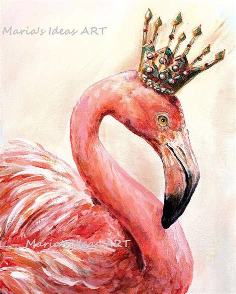 crown wallpaper flamingo flamingo art pink flamingo wall art bird print by