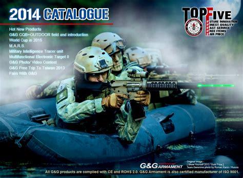 News Presenting Accessories Catalog 2007 by G G Armament 2014 Catalog Airsoft Milsim News