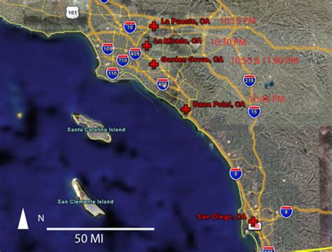 Garden Grove Ca Climate Sighting Reports 2006