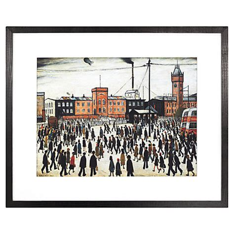 Bedside Ls Singapore by Buy Ls Lowry Going To Work 1943 Framed Print 41 1 X 50