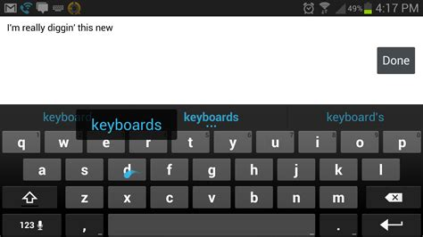 keyboard android android 4 2 aosp keyboard with gesture typing now available for free in the play store