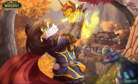 warcraft pandaren fan art wow pandaria by shakuml on deviantart