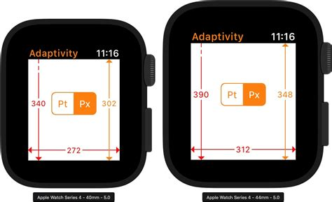 Apple Series 4 Sizes by How Apps Adapt To The Series 4 Apple Screen Sizes