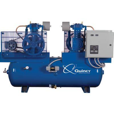 free shipping quincy air compressor duplex 5 hp 460v 3 phase 253dc80dc46 ebay