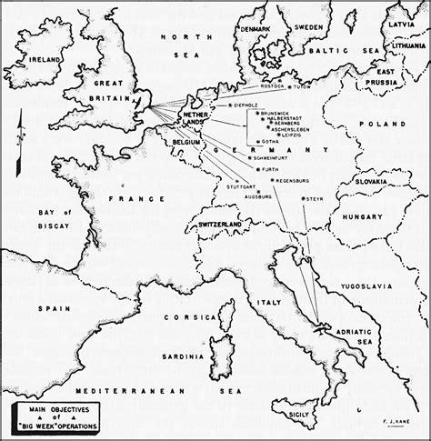 printable world war ii map hyperwar army air forces in world war ii volume iii