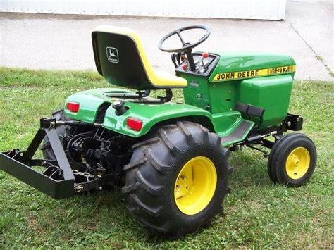 john deere garden tractors images  pinterest