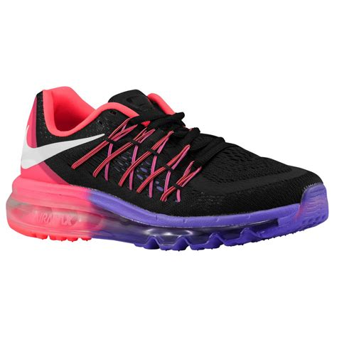 nike purple and black running shoes nike running shoes womens nike air max 2015 black white