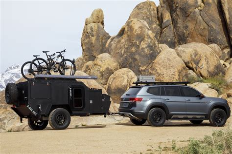 vw atlas basecamp concept  ultimate mountain bike adventure rig gearjunkie
