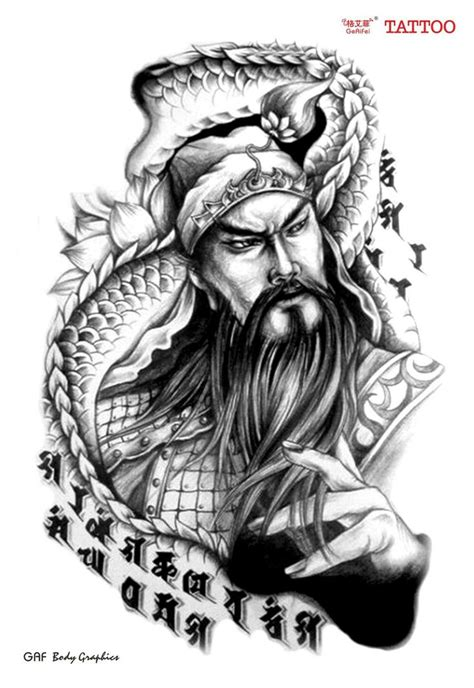 guan yu tattoo best 66 guan yu images on guan yu japan