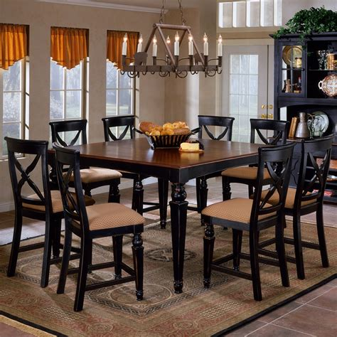 Dining Room Tables Black by Black Dining Room Furniture Marceladick