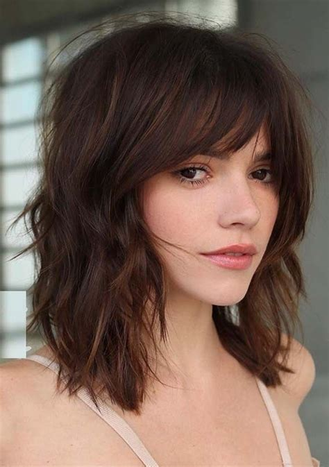 styling ideas  medium length haircuts eazy glam