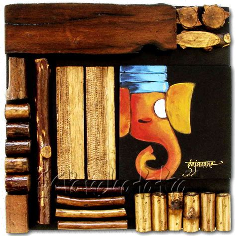 mural wall hanging buy wood wall hanging mural with painting in