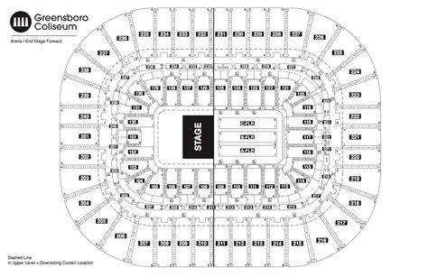 greensboro coliseum floor plan seating chart see seating charts module greensboro