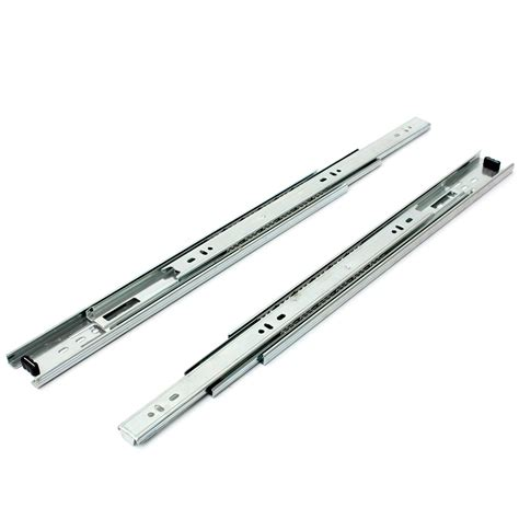 Aluminum Drawer Slides by 6 Size Drawer Runners Groove Bearing Metal Draw