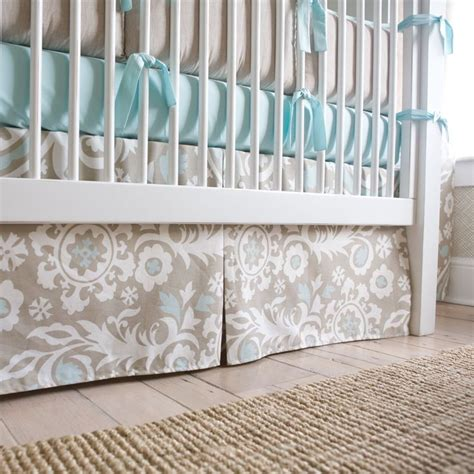 Taupe Crib Skirt by 61 Best Images About Gender Neutral Crib Bedding On