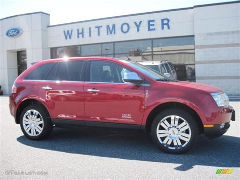 2008 lincoln mkx limited edition 2008 metallic lincoln mkx limited edition awd