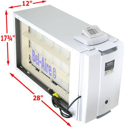 bel aire aprilaire  electronic air cleaner system