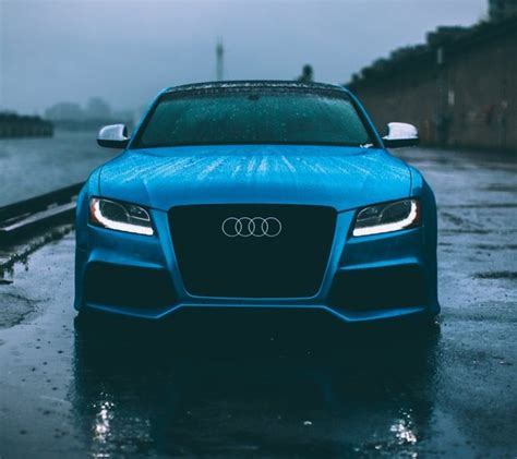 Audi S5 Mobile by Audi S5 Wallpapers To Your Cell Phone Audi Blue