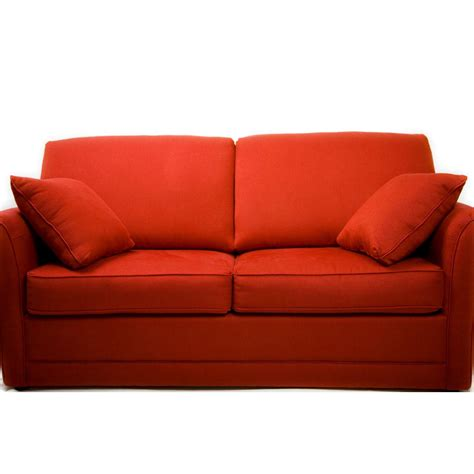 the red sofa couch