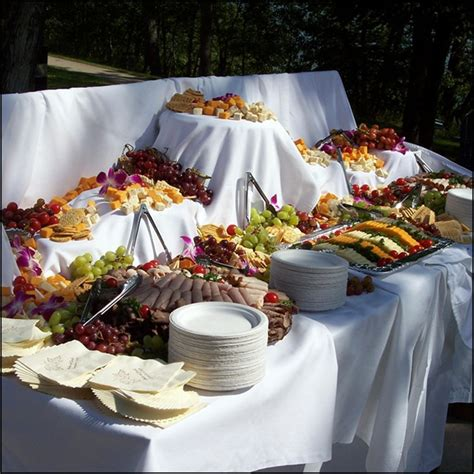 The Pros And Cons Of A Buffet Reception Buy Wedding How Much To Buy For Buffet