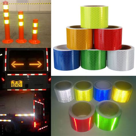 Stiker Reflective 3m Scotchlite 3m 5cm 215 3m safety caution reflective warning sticker