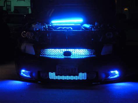 Led Light Bar Blue Oznium Auto Parts For Scion Tc Auto Parts At Cardomain