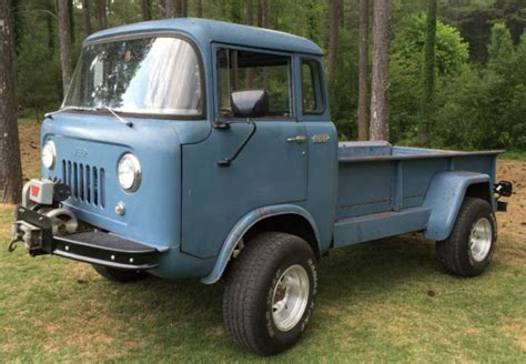 jeep cabover for sale classic 1957 jeep forward control fc 170 4wd pickup cab
