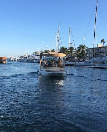 duffy boat rental lido newport beach lifestyle blog on the water in an electric boat