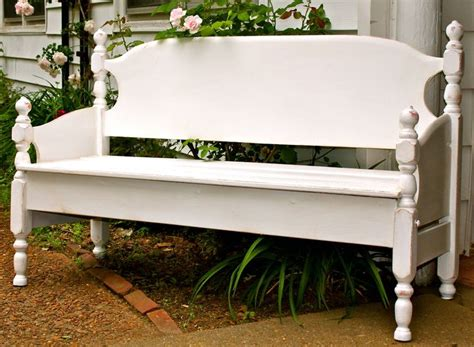 front of bed bench 1000 images about reuse old beds on pinterest old