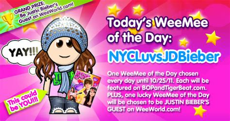 Weeworld Gift Cards - weeworld tiger beat
