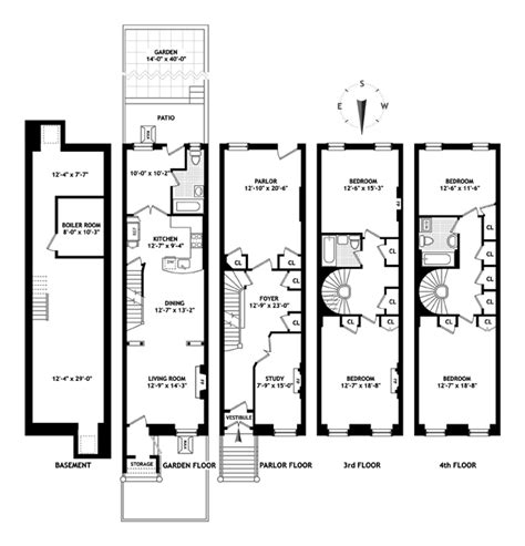 nyc brownstone floor plans 194 carroll street brooklyn new york 2 875 000 brown