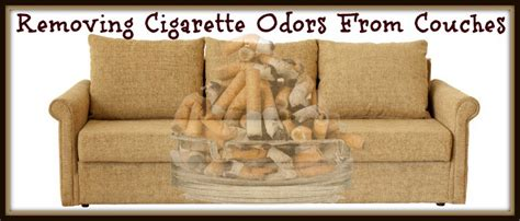 remove smoke smell from couch removing cigarette smoke odor from couches