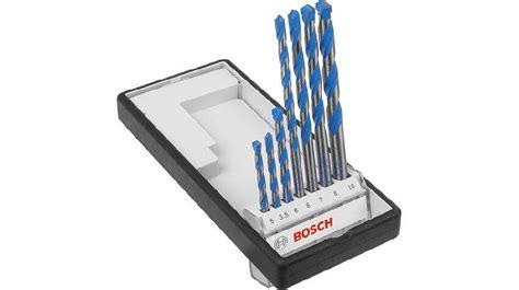 Bosch Multicontruction Drill Bits Set bosch multi construction tct drill bit set 7 reviews bosch
