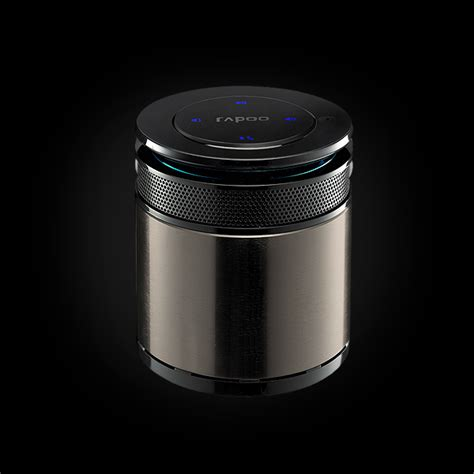 Rapoo A3060 Bluetooth Mini Speaker Silver rapoo bluetooth mini speaker a3060 black 51
