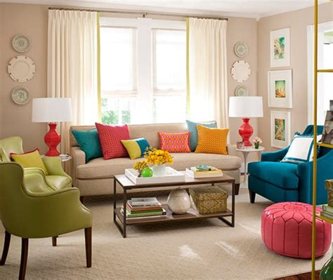 colorful pillows for sofa bhg centsational style